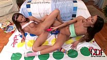 Horny, barely legal girls enjoy sapphic sex wit... thumb