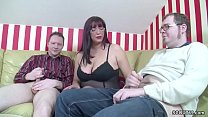 German Step-Mom Teach two Young Boys How to Fuc...