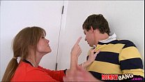 Pretty teen Maddy Oreilly 3some with her bf and...