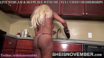 sexy step sister msnovember cornered for booty spreading ass worship by brother