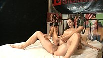 WOW! Skinny babe Olivia Young takes big cock in...