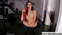Amateur Teen Girl Love To Play With Vibrator movie-20