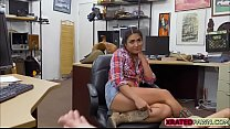Naughty Latina Lexie Banderas pleasing some hor...