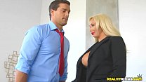 RealityKings - Big Tits Boss - Hyped And Horny)