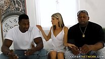 Office Girl Gina Gerson Gets DP'd By Big Black ...
