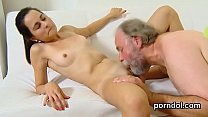 Pretty schoolgirl gets tempted and fucked by her elder lecturer Thumbnail