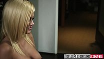 Blonde bombshell (Riley Steele) wants some cock... Thumbnail