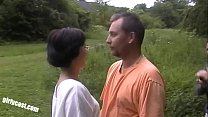 Download video bokep Lisa and her cuckold outdoor threesome 3gp terbaru