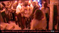 French Swinger party in a private club part 04 - Indian Porn