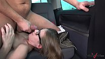 small glassed student get ride of her dreams with cock in pussy