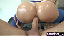 Wet Oiled Big Ass Girl Get Deep Nailed On Cam m...