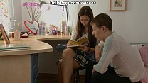 Hot anal sex instead of homework scene 1