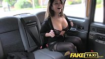 Fake Taxi big facial cum shot for brunette in s... Thumbnail