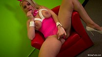 Britney Amber has some solo fun