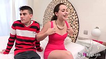 cocks by surrounded innocence her loses Soraya