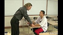 Very sexy gays nailing asses in the classroom