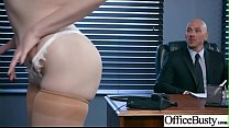 Sex In Office With Big Round Tits Girl (Lauren ... thumb
