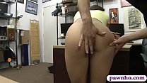 Amateur woman nailed by horny pawn man