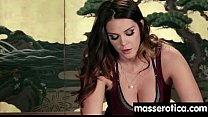 Gorgeous masseuse explores the body of a sexy lesbian beauty 2