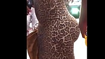 Awesome BOOTY WALKING in a sexy dress Thumbnail