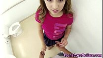 Amateur teen cum cash pov)