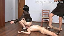 Hard time with 2 nasty mistresses Thumbnail