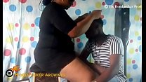Download video bokep Hot BBW South African hair stylist banged in he... 3gp terbaru