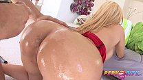 PervCity Big Booty Blonde Gets Her Anal Fix)