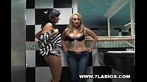 Kelen Arias And Sofia Caliente Colombians in le...