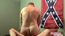 After a blowjob Kuntry gets to hammer a tight d... thumb