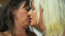 m... - friend lesbian younger her and woman Mature