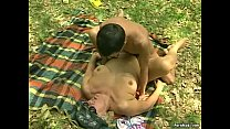 outdoor pounded gets granny Chubby