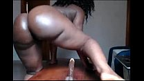 girl can ride that dildo