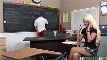 horny blonde Courtney Taylor fucking her fave prof