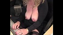 big nipples big clitoris busty mature blonde am... thumb