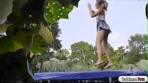 Ivy getting fucked in the trampoline Thumbnail