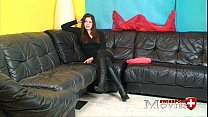 Porn Interview with Teen-Model Cleopatra 18y in... thumb