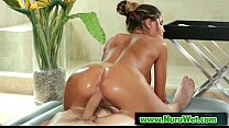 Nuru Slippery Massage And Sensual Sex 11