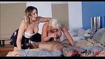 Mom Daughter Boyfriend Hot Threesome Thumbnail