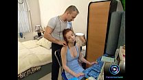 een with fresh goodies fucked discreetly by her boyfriend