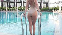 Download video bokep I'm wearing transparent swimsuit in the public ... 3gp terbaru