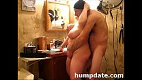 Horny BBW gets doggystyled and facialized