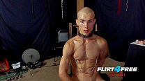 Flirt4Free Fetish Flogger Hoss Kado Clamps His ... Thumbnail