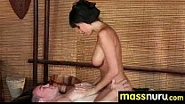 Japanese Masseuse Gives a Full Service Massage 22