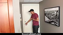 ExxxtraSmall - Extra Small Escort Stretched By ...