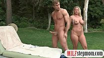 Britney Young and Devon Lee crazy threesome session