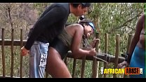 Cape Town swinger party goes outdoor Thumbnail