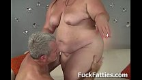 Jiggly Belly And Huge Fat Tits BBW