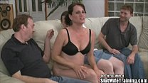 Nasty Slut Wife Threesome Swallow Fuck Party Fo...