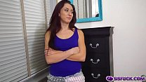 Mandy Muse blackmailed by her step bro for a bl... thumb